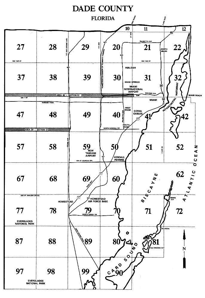 Miami Area Map Miami Dade Areas Map | Miami Real Estate Maps and Graphics  Miami Area Map
