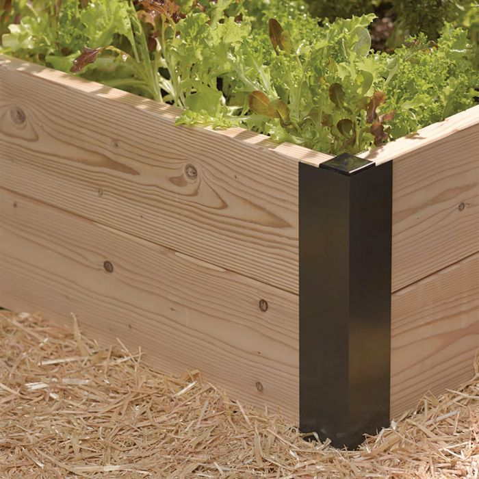All Aluminum Raised Bed Corners and Connectors