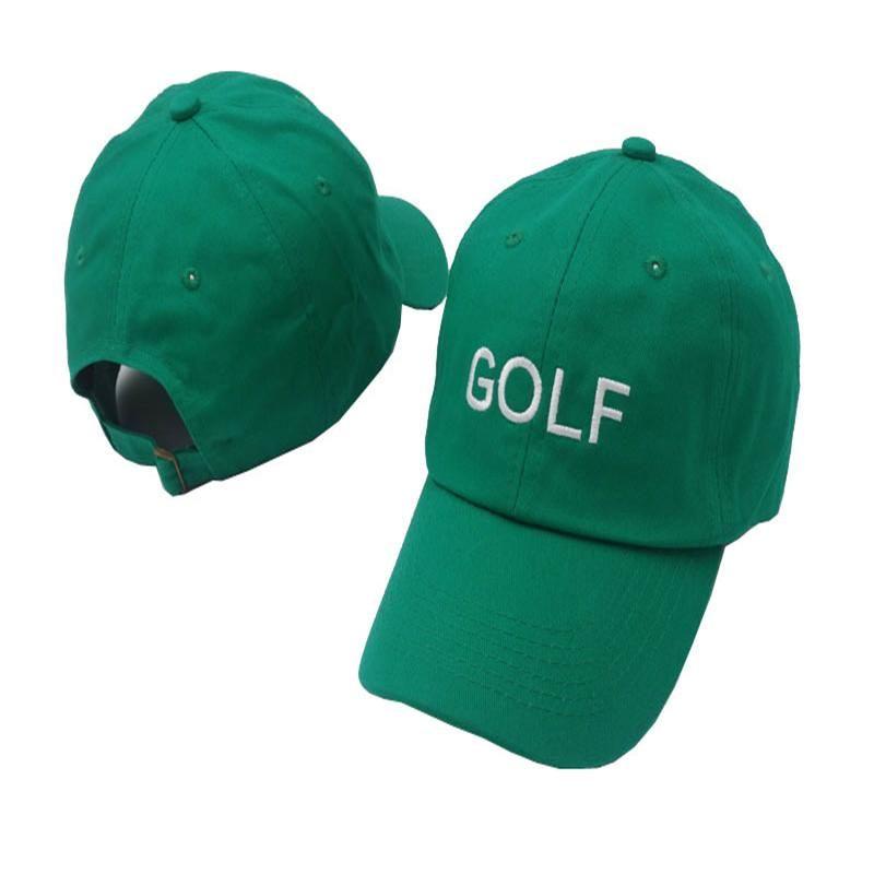 Tyler The Creator Golf Hat Tyler Gregory Okonma Dad Hat 100% Cotton  Casquette Bone Gorras Baseball Cap Men and Women Snapback 0a1bf8f603d