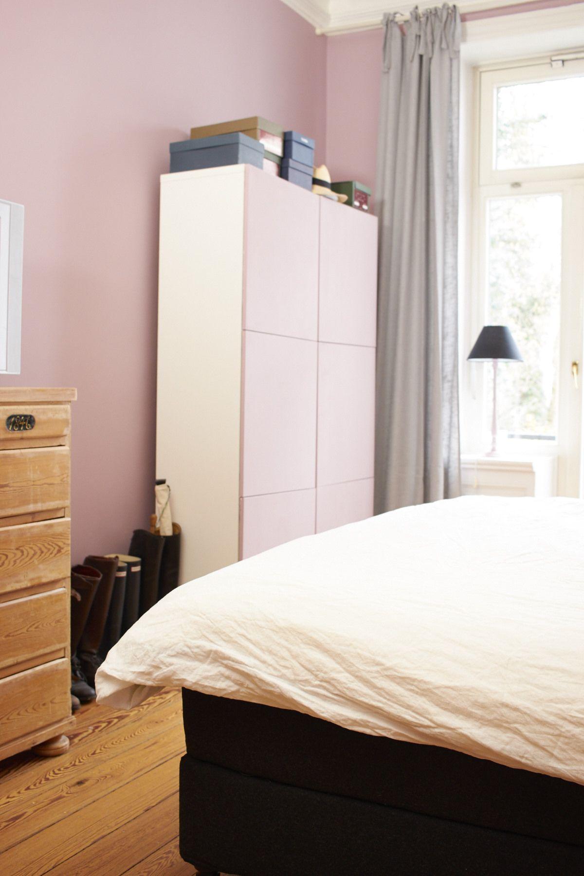 Zimmerfarbe stil ein diy u der schuhschrank in der wandfarbe  ikea hack