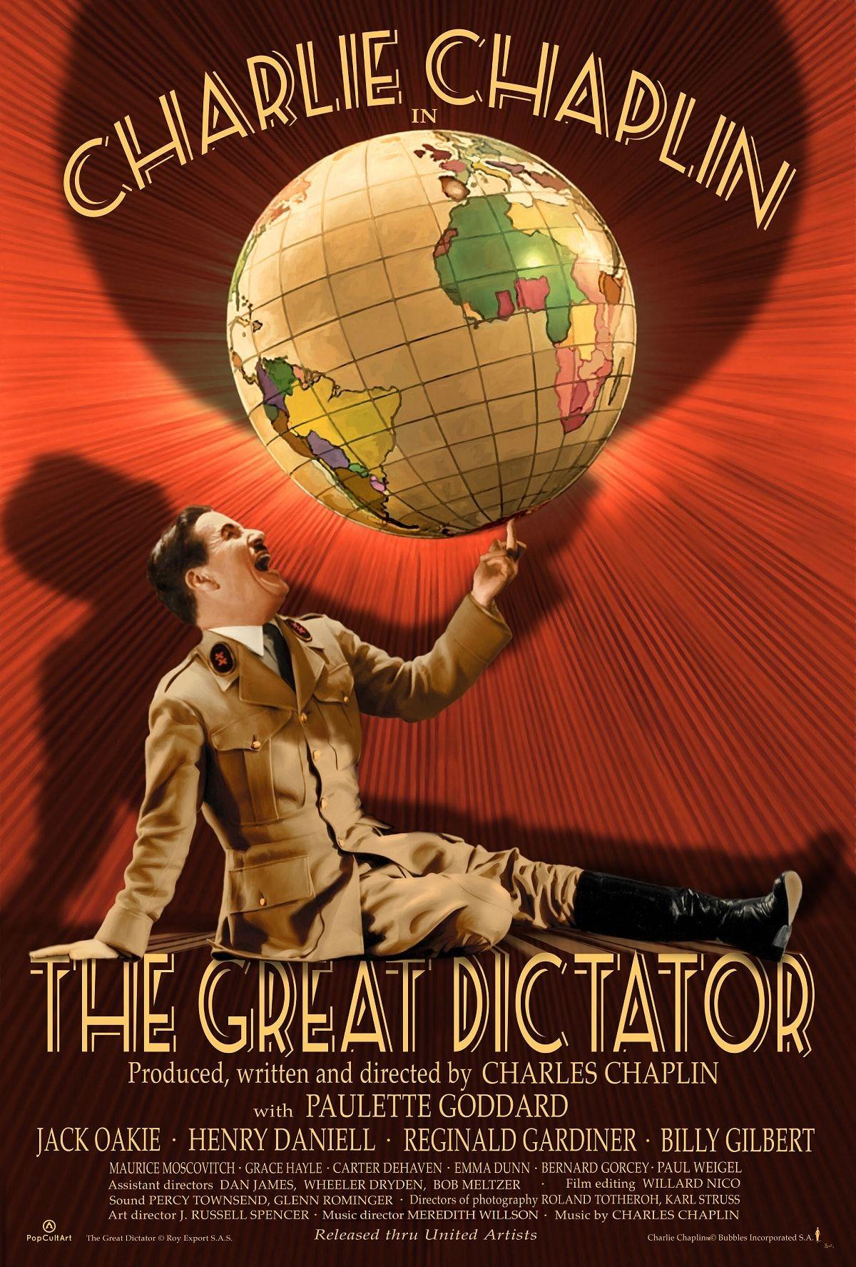 The Great Dictator (Original) in 2020 Classic movie