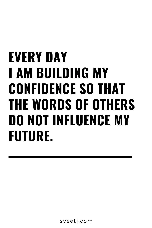 Inspiring Confidence & Empowerment Quote
