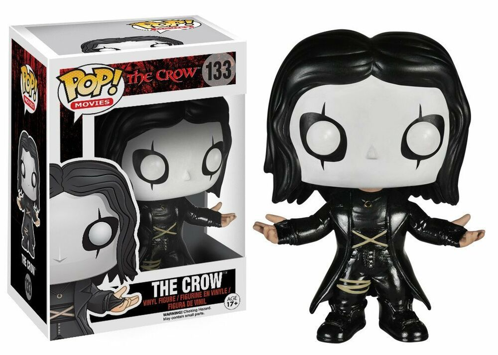 Movies Series The Crow Eric Draven #133 Vinyl Action Figure Toys Luminous Gifts