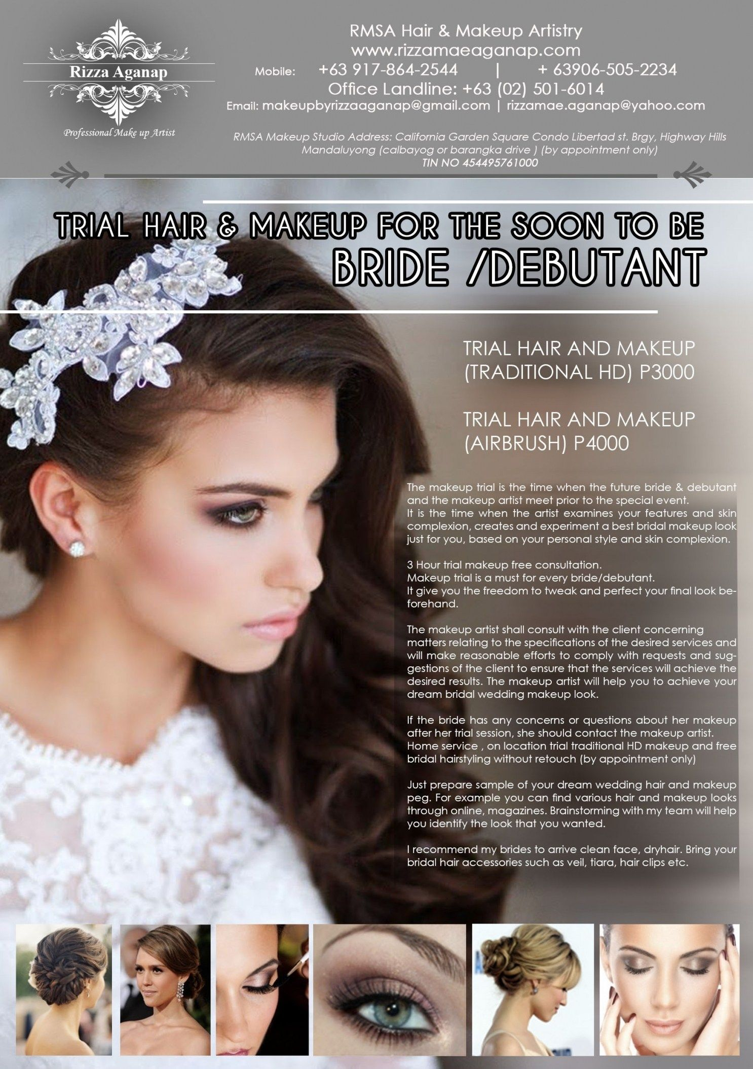 wedding hair and makeup trial cost | hairstyles ideas for me