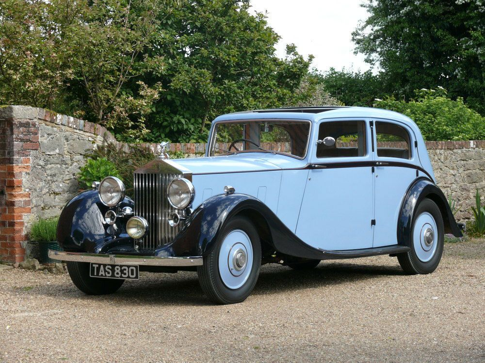 1938 Rolls Royce 25/30 By Park Ward   Rolls royce, Rolls and Cars