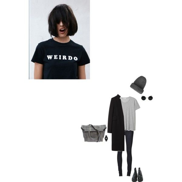 Unbenannt #182 by takadoshika on Polyvore featuring polyvore, Mode, style, Alexander Wang, Kill City, Casio, Topshop and Lazy Oaf
