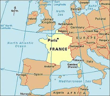 Paris On Europe Map.Paris France Places I Want To Visit Pinterest France Paris