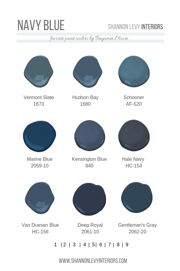 Navy Blue Paint Just Can Not Get Enough Of These Blue Hues Dark