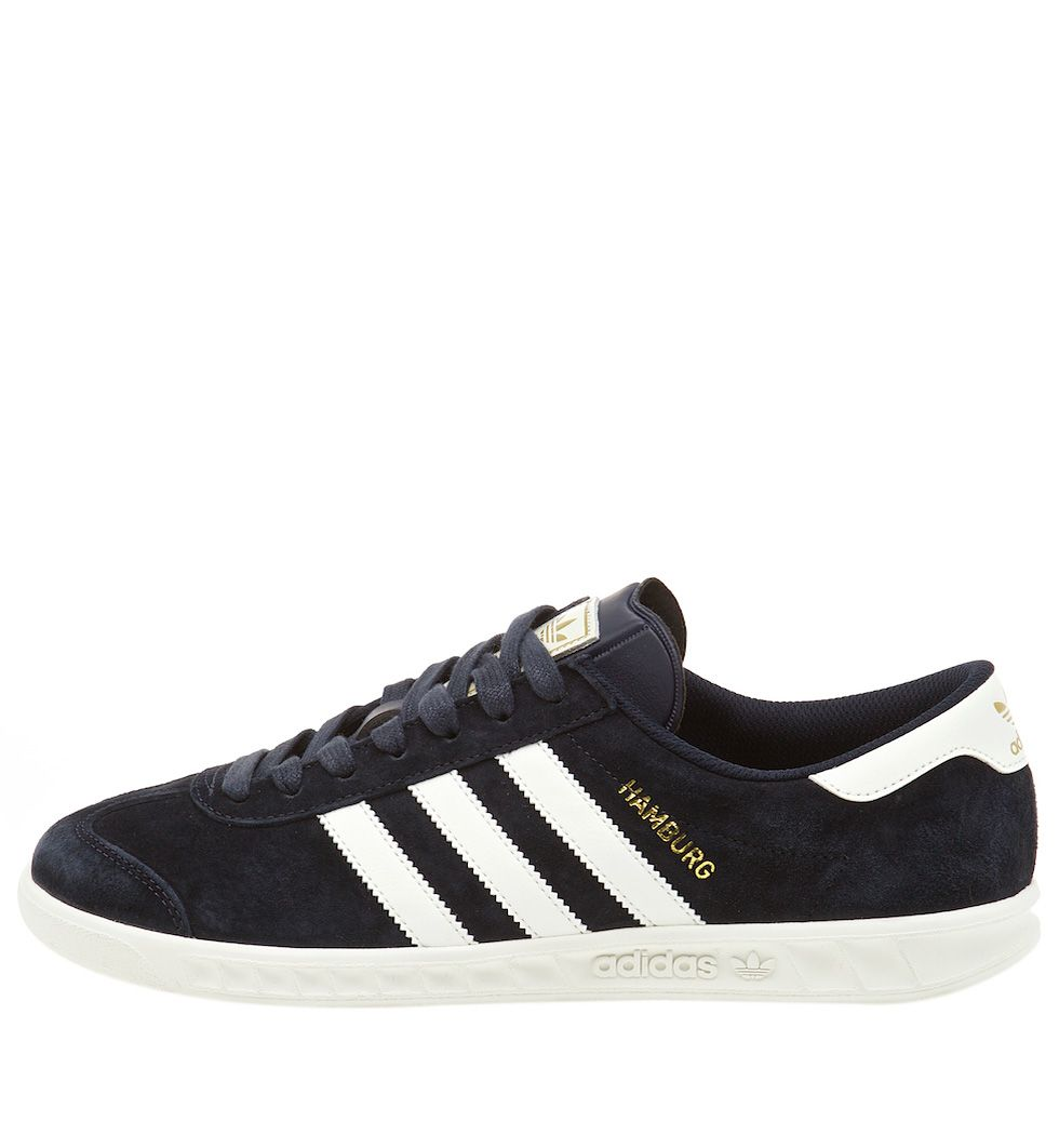 new concept e7264 38f85 Кроссовки adidas Originals Hamburg Navy Off White. Article  S82646.  Release  2015
