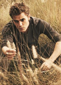 Paul Wesley words cannot describe how much I love him!!! Sexiest man/vampire there is!! Stephan Salvatore