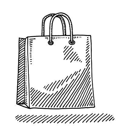 Paper Ping Bag Drawing
