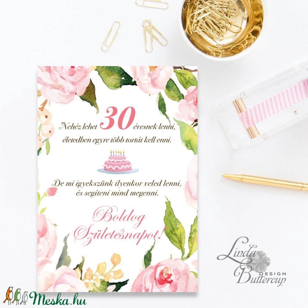 idézetek 30 szülinapra Szülinapi Képeslap, 30. születésnap, Egyedi, személyre szóló