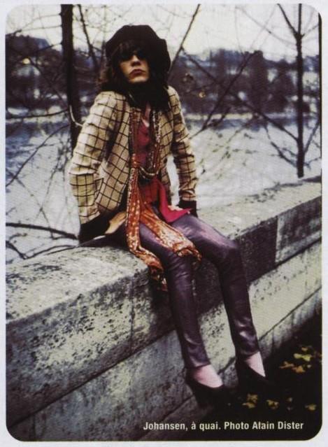 David Johansen Paris 1973 Photo by Alain Dister | Quirky ...
