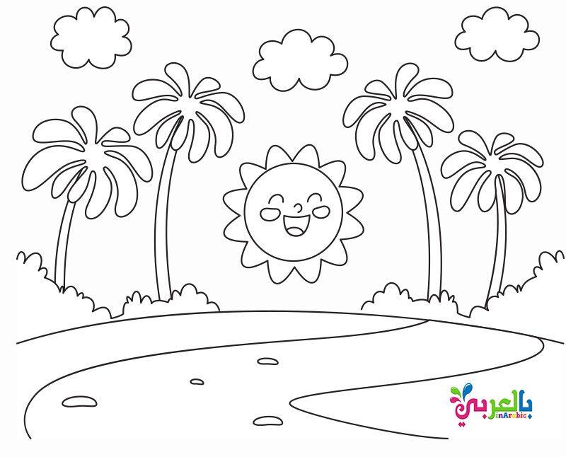 اوراق عمل للتلوين عن الربيع للاطفال رسومات للطباعة عن فصل الربيع Coloring Books Kids Coloring Book Mandala Coloring Books