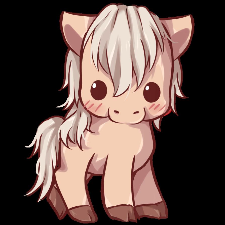 Kawaii Horse by Dessineka Horse cartoon, Cute horses
