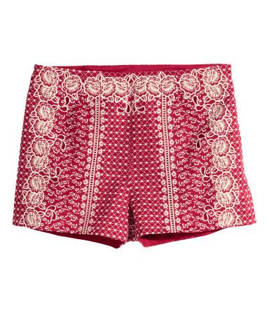 H&M Embroidered Shorts $14.99