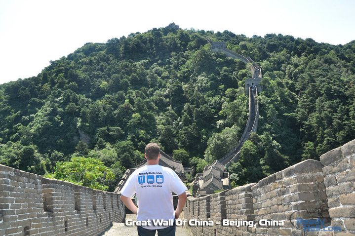 Great Wall of China and ReadyHeli, One of our favorites.