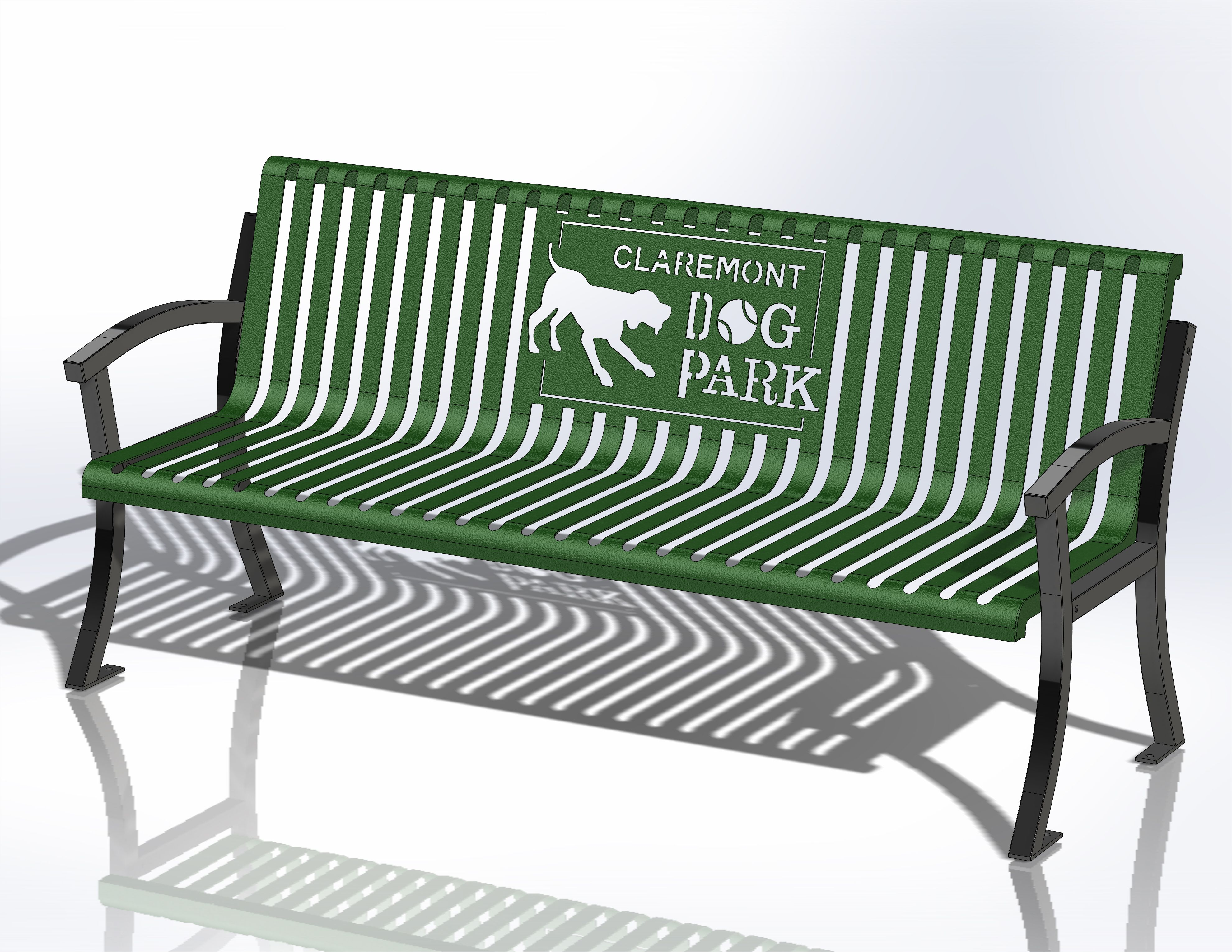 Sit In Style Customize Your Bench With Your Park Name Dog Park Equipment Dog Park Cat Daycare