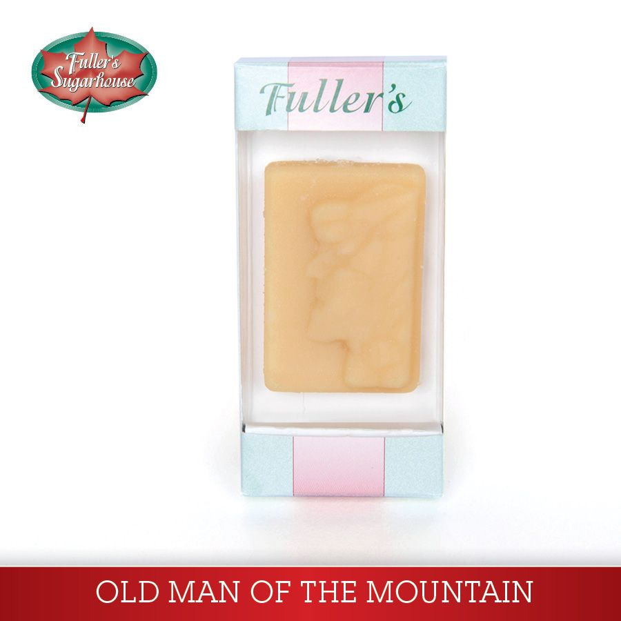 1.5 oz. Old Man of the Mountain – Pure Maple Syrup Candy