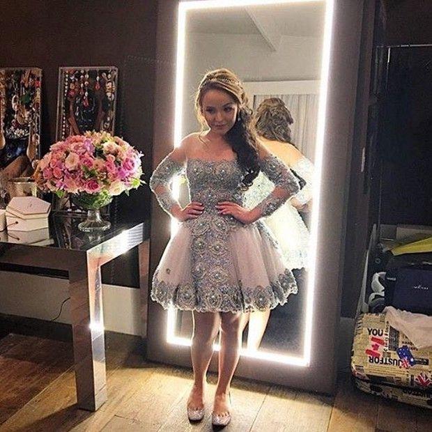 Larissa Manoela, vestidos   Larissa Manoela   Dresses, Quinceanera ... a9b77e5de4