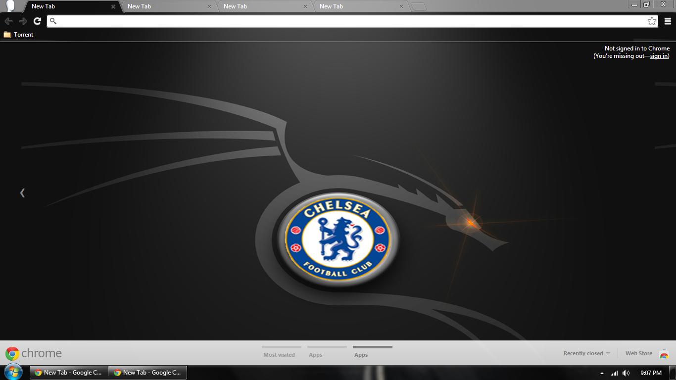 Google chrome themes juventus - Chelsea