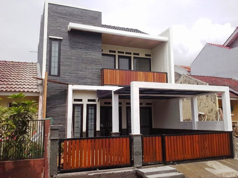 Rumah Minimalis Kayu Ulin