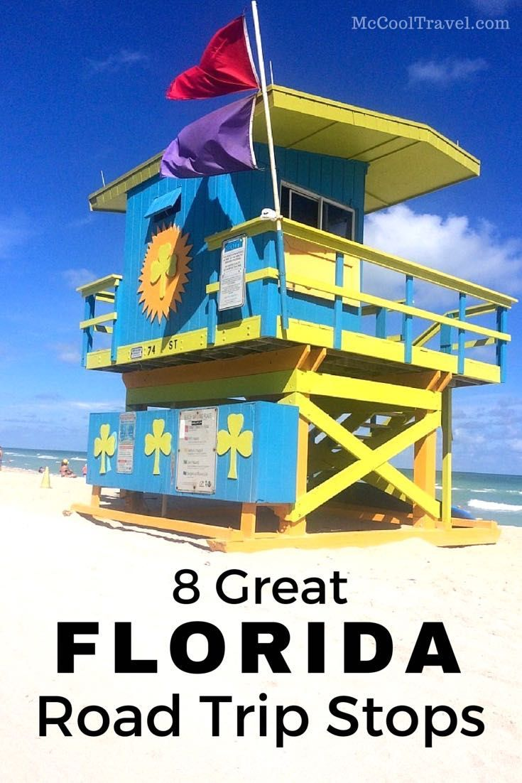 Many Fun Florida Road Trip Stops Are Waiting To Be Explored And