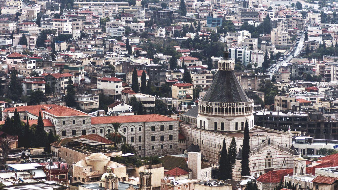 BILD 4 VON 8 Als relativ gesichert gilt, dass Jesus in der Stadt Nazareth im heutigen Israel lebte. ©iStock/WassimKorzoum