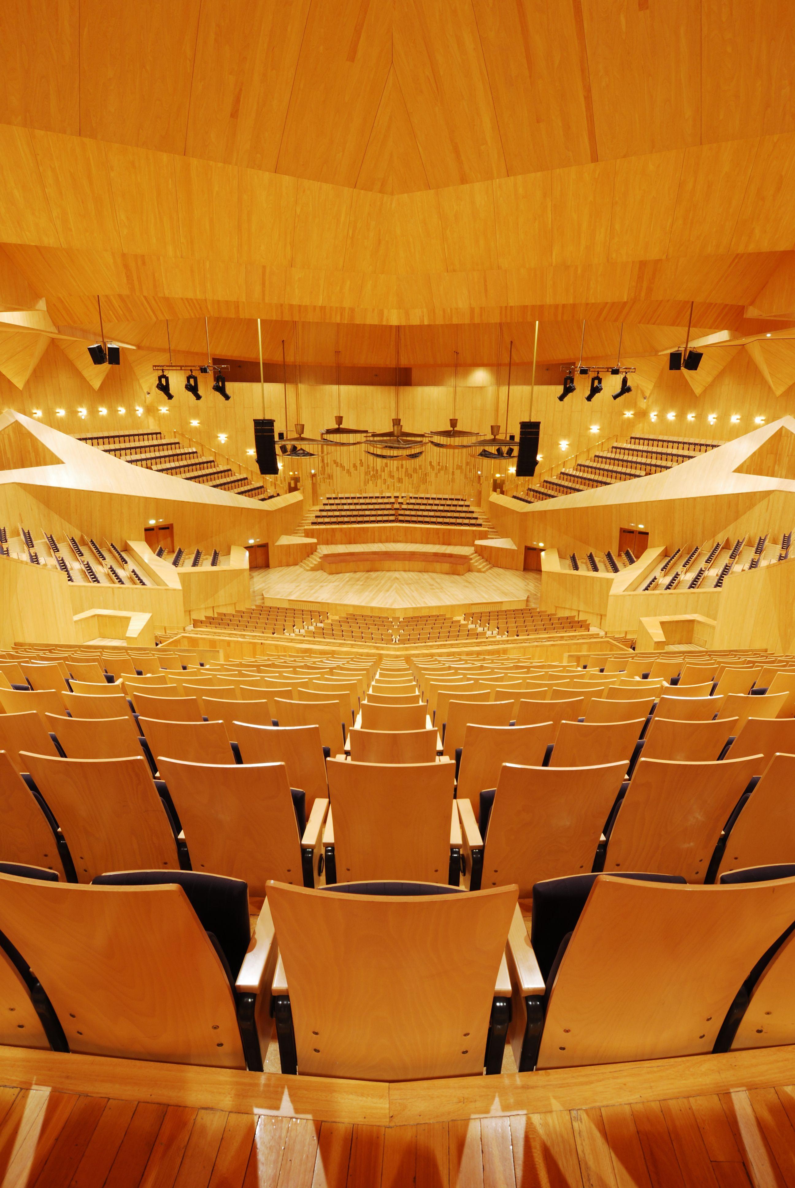 Sala mozart auditorio y palacio de congresos de zaragoza vah estudio de fotograf a - Estudio arquitectura zaragoza ...
