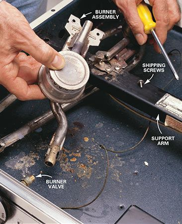 How to Repair a Gas Range or an Electric Range Appliance