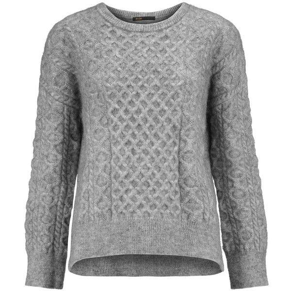 8409e6ba6f32ca Maje - Cable-knit Sweater (1