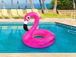 aufblasbarer flamingo schwimmreifen shoppingtipps pinterest. Black Bedroom Furniture Sets. Home Design Ideas