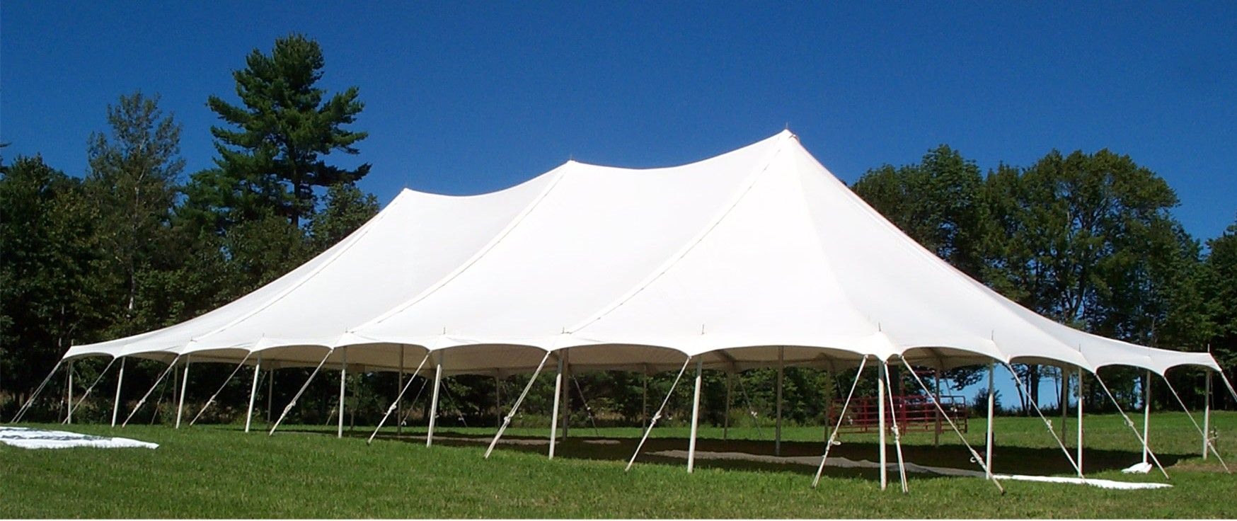Tent Rope And Pole 40 X 80 Tent Rentals Tent Party Tent Rentals