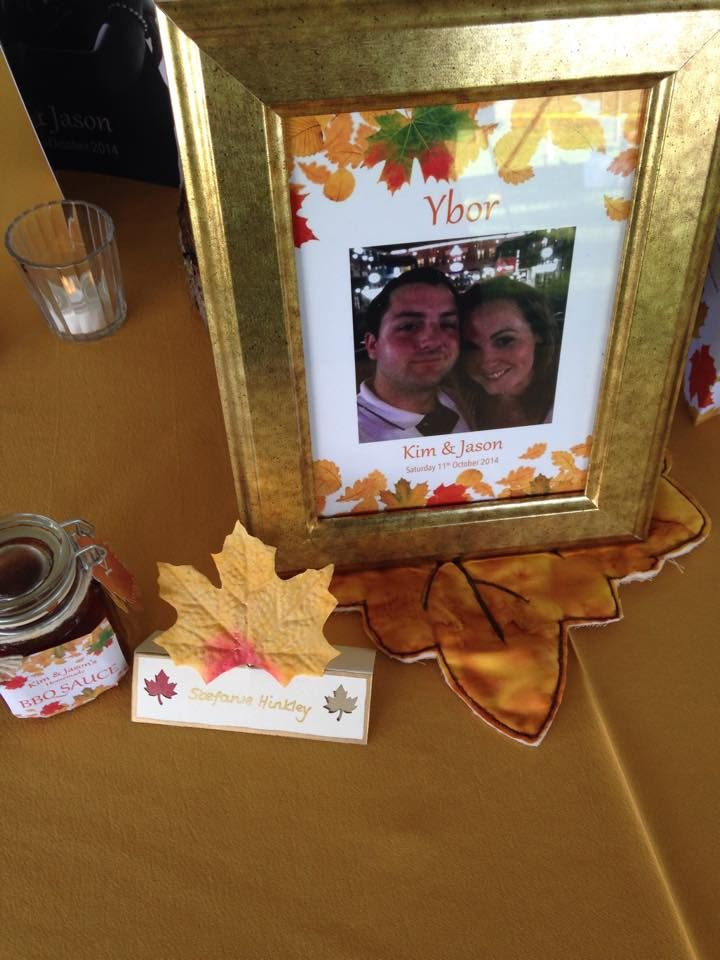 Autumn Wedding #tablenames #wedding #autumn #favourlabels by Stef Hinkley