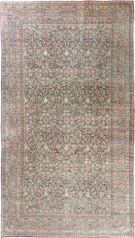 Antique Persian Lavar Kerman Rug 11 6 X20 10 Kerman Rugs Antique Persian Rug Hallway Carpet Runners