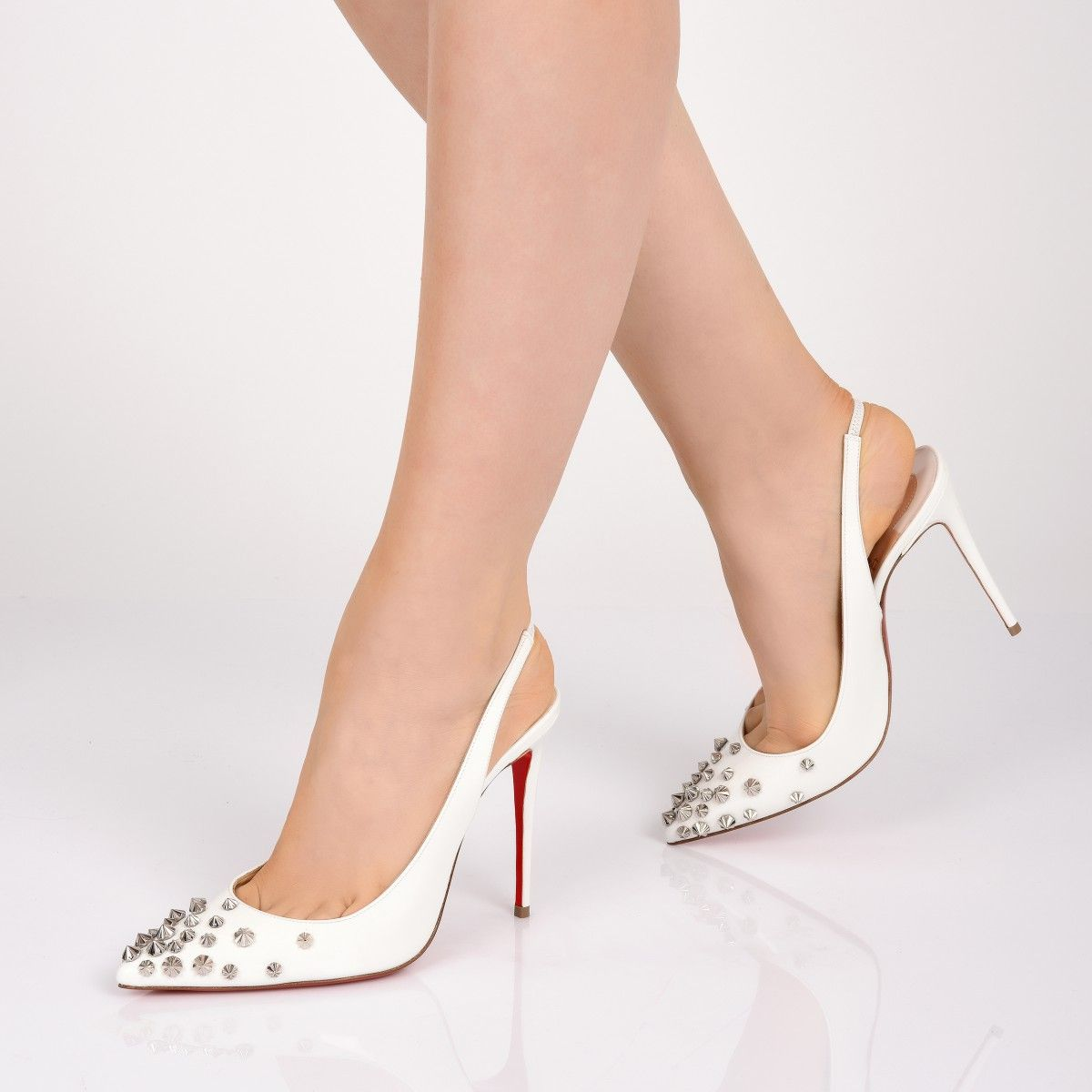 126461ba44b Drama Sling 100 Latte/Silver Patent Leather - Women Shoes ...