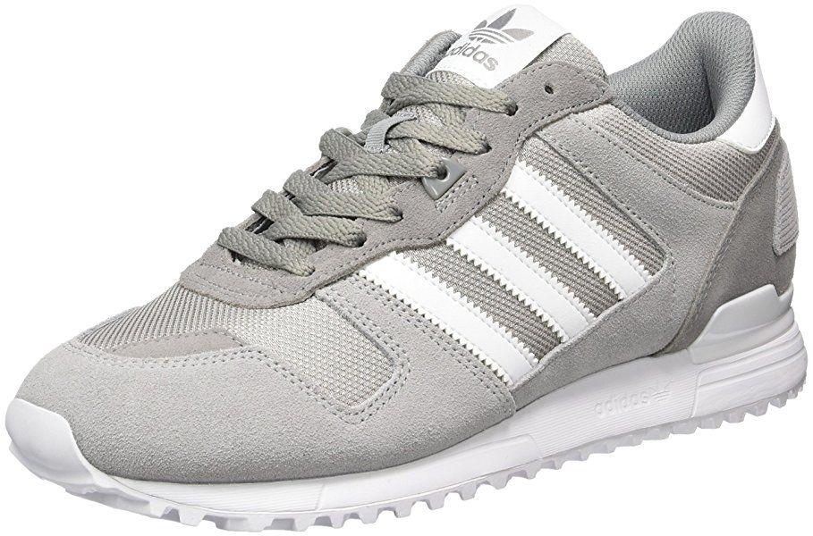 adidas Herren ZX 700 Sneaker, Grau (Ch Solid Grey Ftwr White Mgh ... 595d9f011f