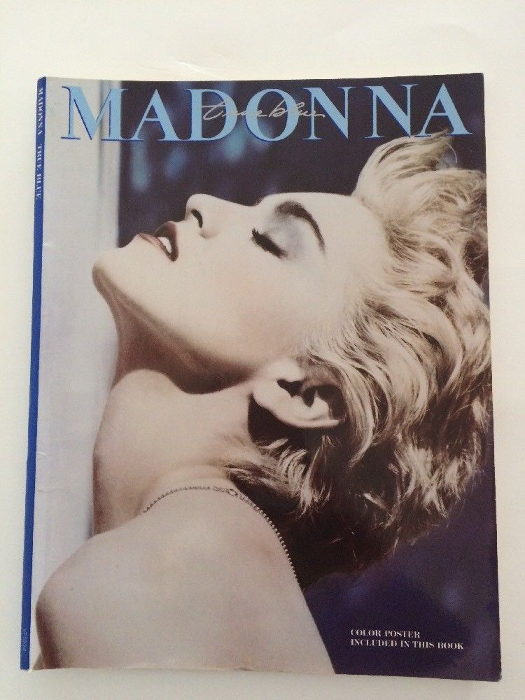 Madonna True Blue Songbook 1986 Lyrics Sheet Music Papa Don T