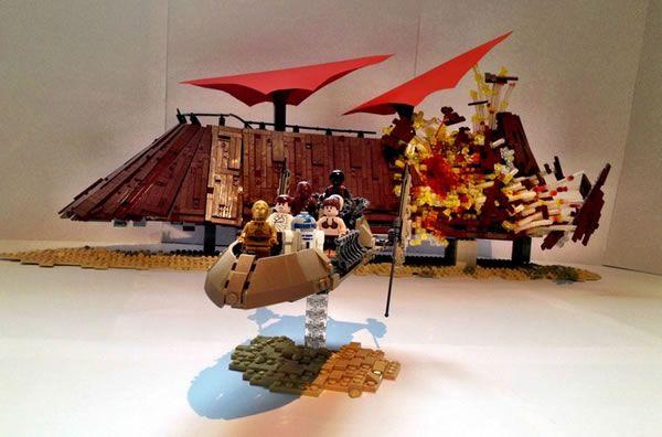 LEGO Star Wars Olympics Round 1 - The End of Jabba par markus1984 - http://www.hothbricks.com/