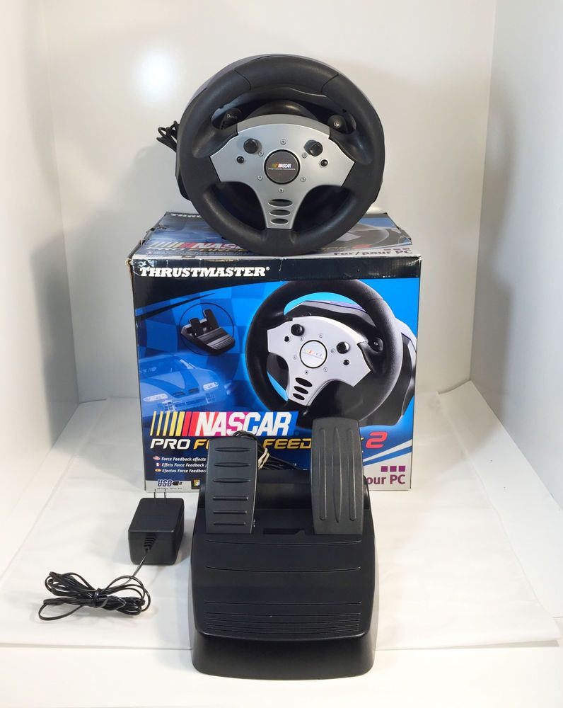 TRUSTMASTER WHEELS NASCAR PRO DRIVERS FOR WINDOWS 7