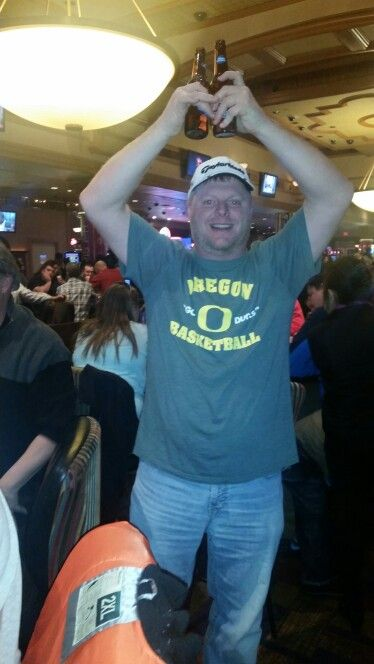 Yes...I made this duck throw up THE O! Go Bucks!