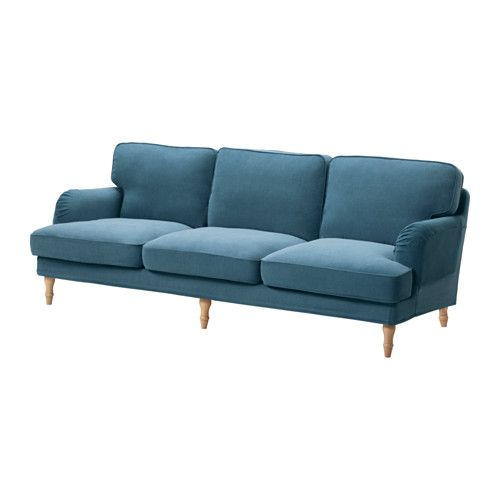 IKEA   STOCKSUND, 3.5 Seat Sofa Cover, Ljungen Blue, , The Cover Is Easy To  Keep Clean As It Is Removable And Can Be Machine Washed.