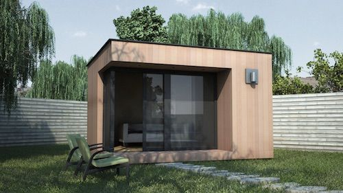 Bureau de jardin à toit plat kućica za vrt