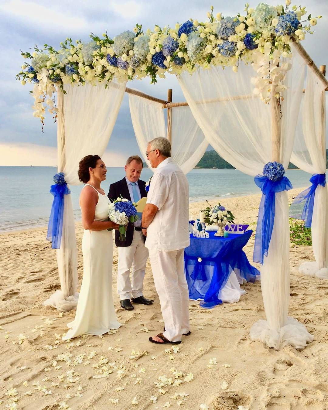 Belongil Beach Wedding Ceremony: Beach Wedding Ceremony For Betty & Ady 31st December 2017