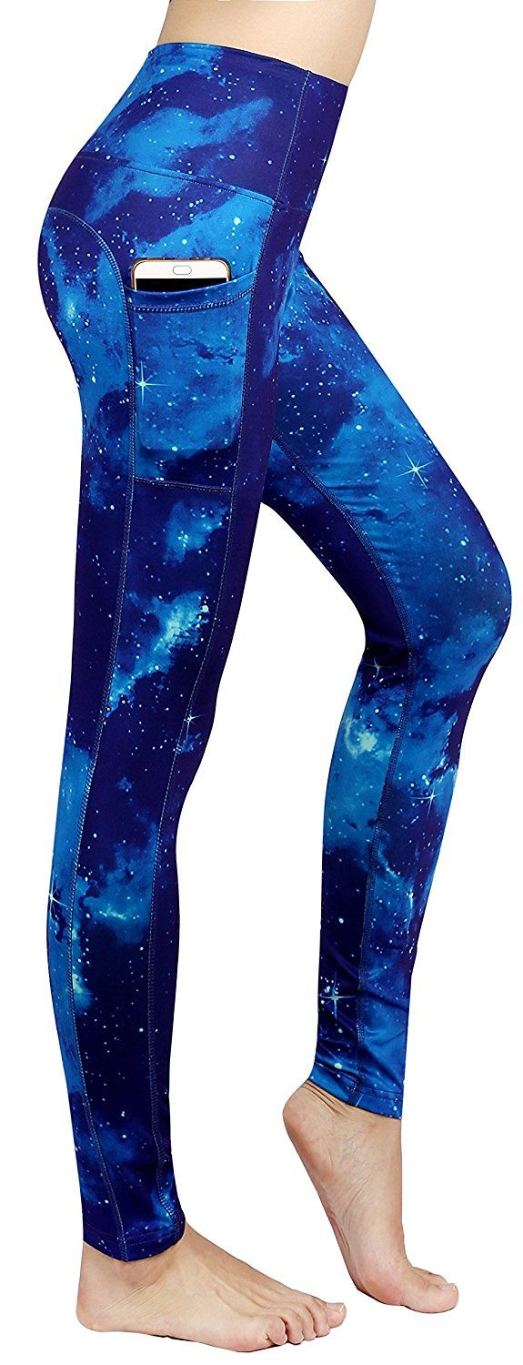 20a7e8f5ff872 ⚡ Schöne Galaxy Printed Yoga Leggings ⚡