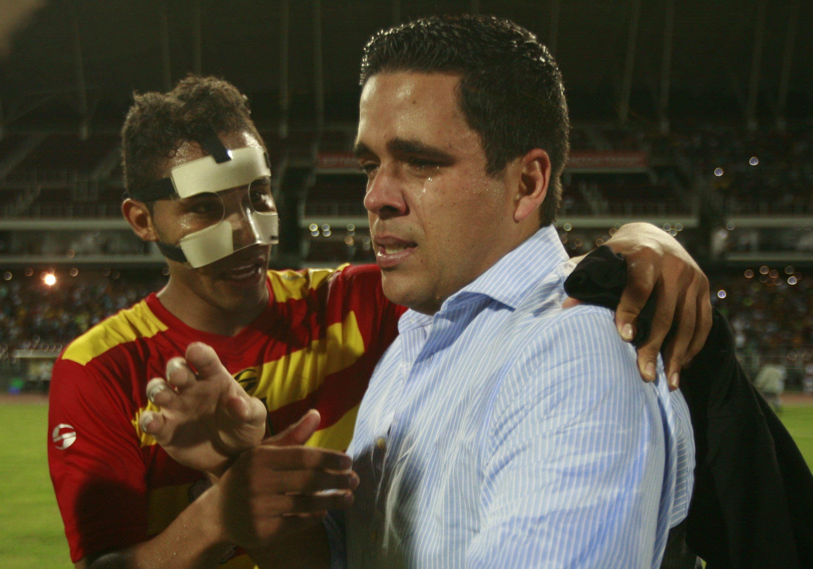 El Deportivo Anzoátegui se tituló campeón del Torneo Apertura 2012 del fútbol venezolano  Créditos: Gil Montaño