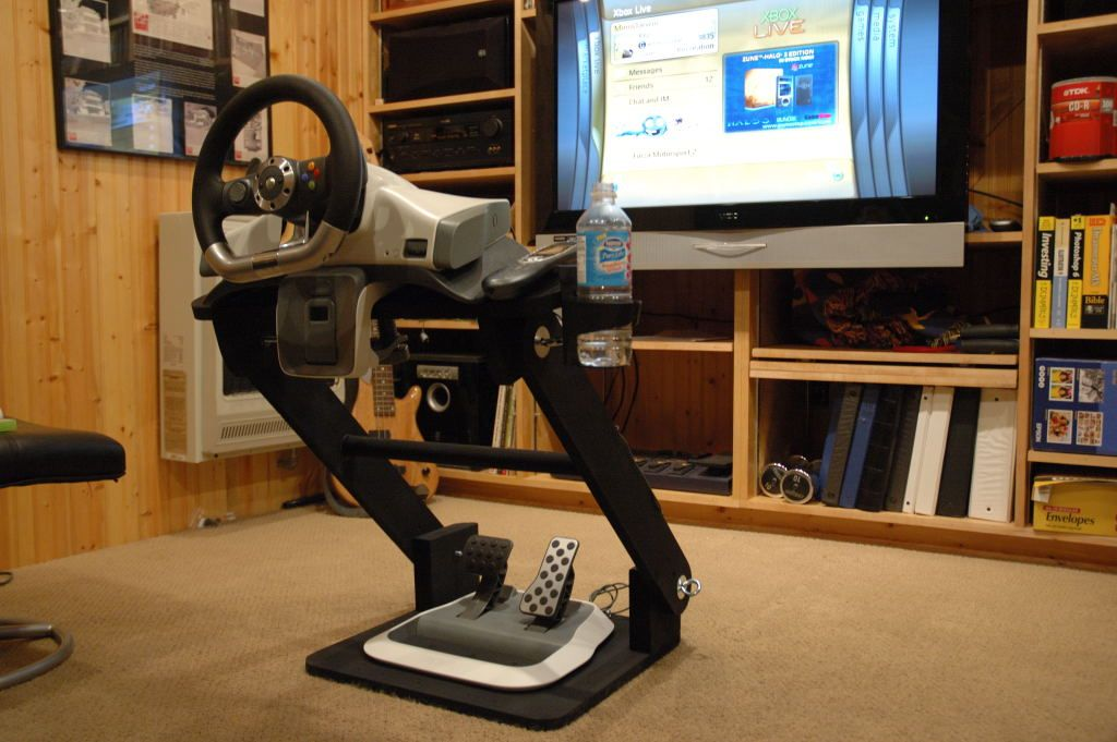 DIY Racing Wheel Stand/****pit