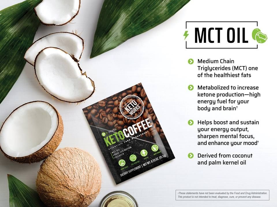 We LOVE That Our It Works Keto Coffee Has All Of The Amazing Benefits MCT Oil In A MESS FREE Way