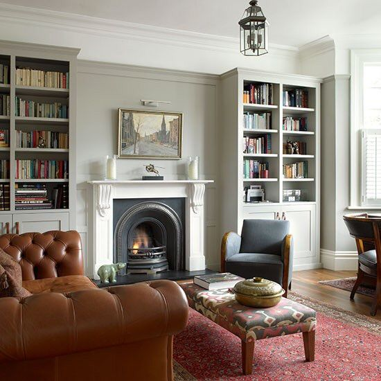 No Chimney Breast Cupboards Unified With Moulding Home Pinterest Cupboard Living Rooms