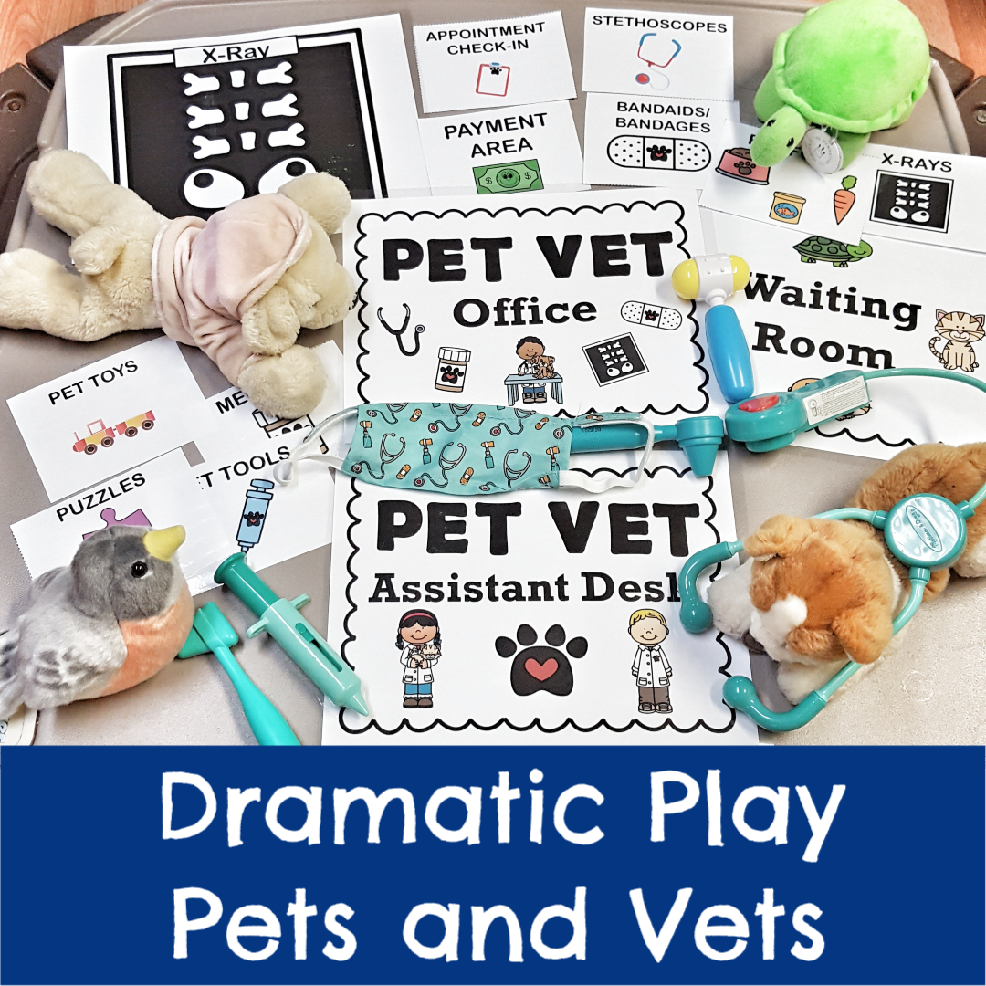 Dramatic Play Pets And Vets Week